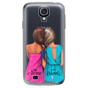 Plastové pouzdro iSaprio Best Friends na mobil Samsung Galaxy S4