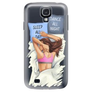 Plastové pouzdro iSaprio Dance and Sleep na mobil Samsung Galaxy S4