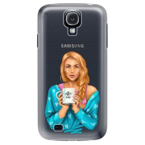Plastové pouzdro iSaprio Coffe Now Redhead na mobil Samsung Galaxy S4