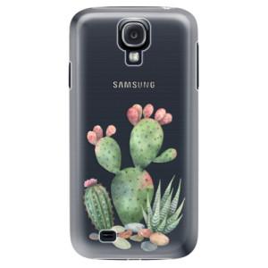 Plastové pouzdro iSaprio Cacti 01 na mobil Samsung Galaxy S4