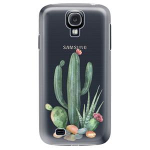 Plastové pouzdro iSaprio Cacti 02 na mobil Samsung Galaxy S4