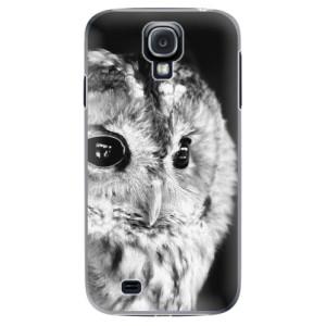 Plastové pouzdro iSaprio BW Owl na mobil Samsung Galaxy S4