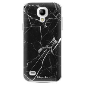 Plastové pouzdro iSaprio Black Marble 18 na mobil Samsung Galaxy S4 Mini
