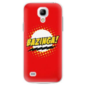 Plastové pouzdro iSaprio Bazinga 01 na mobil Samsung Galaxy S4 Mini