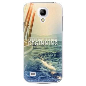 Plastové pouzdro iSaprio Beginning na mobil Samsung Galaxy S4 Mini