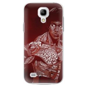 Plastové pouzdro iSaprio Bruce Lee na mobil Samsung Galaxy S4 Mini