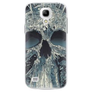 Plastové pouzdro iSaprio Abstract Skull na mobil Samsung Galaxy S4 Mini