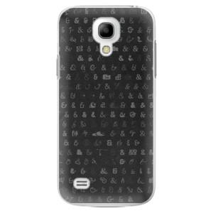 Plastové pouzdro iSaprio Ampersand 01 na mobil Samsung Galaxy S4 Mini