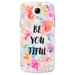 Plastové pouzdro iSaprio BeYouTiful na mobil Samsung Galaxy S4 Mini