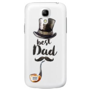 Plastové pouzdro iSaprio Best Dad na mobil Samsung Galaxy S4 Mini