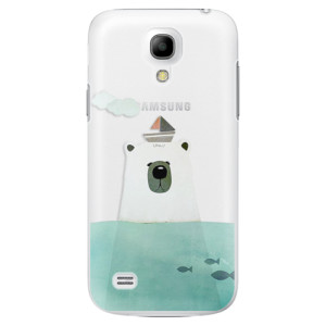 Plastové pouzdro iSaprio Bear With Boat na mobil Samsung Galaxy S4 Mini
