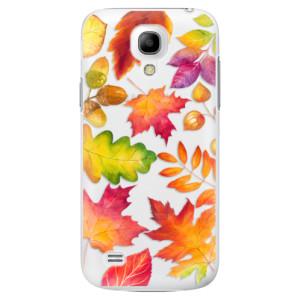 Plastové pouzdro iSaprio Autumn Leaves 01 na mobil Samsung Galaxy S4 Mini