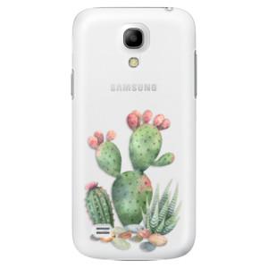 Plastové pouzdro iSaprio Cacti 01 na mobil Samsung Galaxy S4 Mini