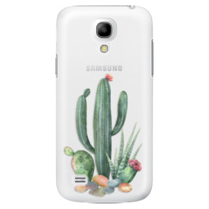 Plastové pouzdro iSaprio Cacti 02 na mobil Samsung Galaxy S4 Mini