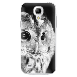 Plastové pouzdro iSaprio BW Owl na mobil Samsung Galaxy S4 Mini