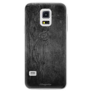 Plastové pouzdro iSaprio Black Wood 13 na mobil Samsung Galaxy S5 Mini