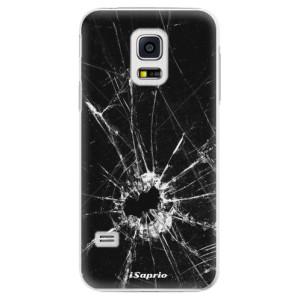 Plastové pouzdro iSaprio Broken Glass 10 na mobil Samsung Galaxy S5 Mini