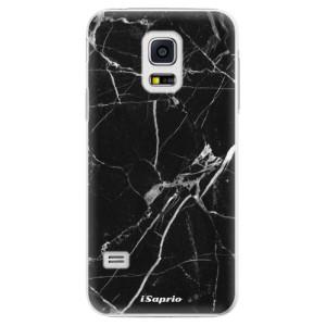 Plastové pouzdro iSaprio Black Marble 18 na mobil Samsung Galaxy S5 Mini