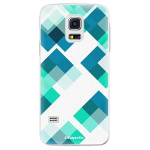 Plastové pouzdro iSaprio Abstract Squares 11 na mobil Samsung Galaxy S5 Mini