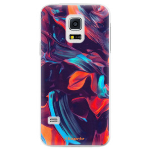 Plastové pouzdro iSaprio Color Marble 19 na mobil Samsung Galaxy S5 Mini