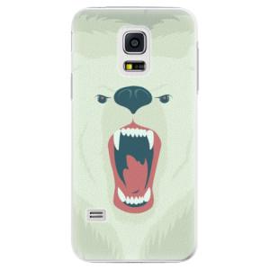 Plastové pouzdro iSaprio Angry Bear na mobil Samsung Galaxy S5 Mini