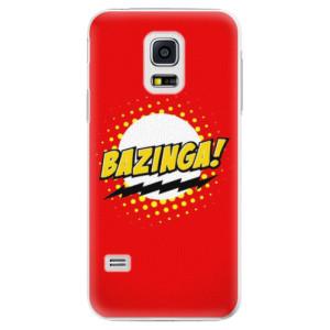 Plastové pouzdro iSaprio Bazinga 01 na mobil Samsung Galaxy S5 Mini