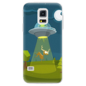 Plastové pouzdro iSaprio Alien 01 na mobil Samsung Galaxy S5 Mini
