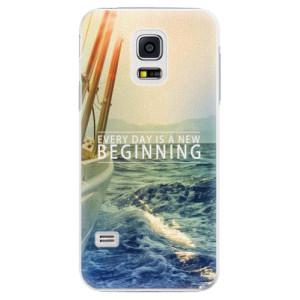 Plastové pouzdro iSaprio Beginning na mobil Samsung Galaxy S5 Mini