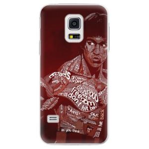 Plastové pouzdro iSaprio Bruce Lee na mobil Samsung Galaxy S5 Mini
