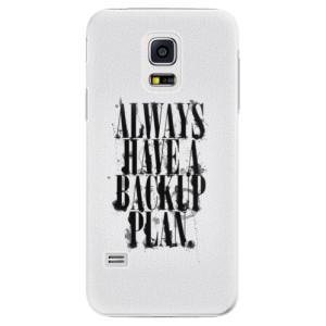 Plastové pouzdro iSaprio Backup Plan na mobil Samsung Galaxy S5 Mini