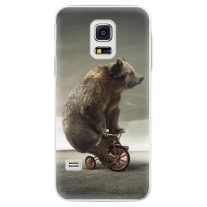 Plastové pouzdro iSaprio Bear 01 na mobil Samsung Galaxy S5 Mini