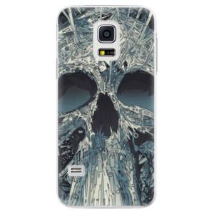 Plastové pouzdro iSaprio Abstract Skull na mobil Samsung Galaxy S5 Mini