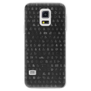 Plastové pouzdro iSaprio Ampersand 01 na mobil Samsung Galaxy S5 Mini