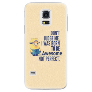Plastové pouzdro iSaprio Be Awesome na mobil Samsung Galaxy S5 Mini