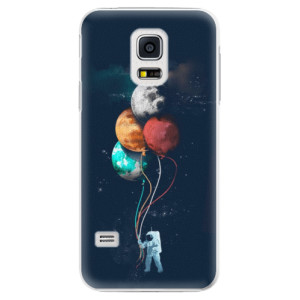 Plastové pouzdro iSaprio Balloons 02 na mobil Samsung Galaxy S5 Mini