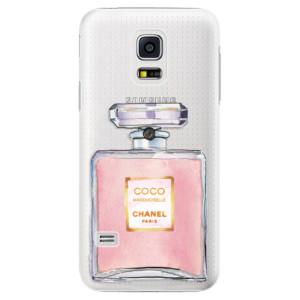 Plastové pouzdro iSaprio Chanel Rose na mobil Samsung Galaxy S5 Mini