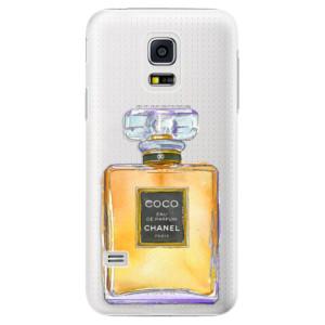 Plastové pouzdro iSaprio Chanel Gold na mobil Samsung Galaxy S5 Mini