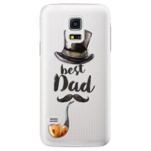 Plastové pouzdro iSaprio Best Dad na mobil Samsung Galaxy S5 Mini