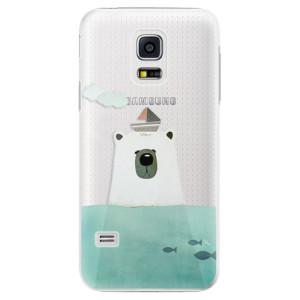 Plastové pouzdro iSaprio Bear With Boat na mobil Samsung Galaxy S5 Mini