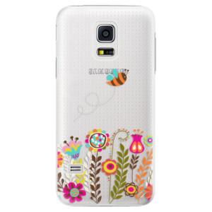 Plastové pouzdro iSaprio Bee 01 na mobil Samsung Galaxy S5 Mini