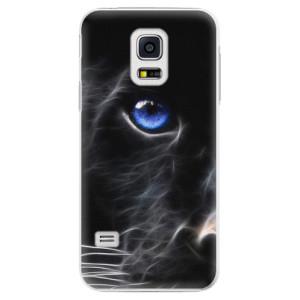 Plastové pouzdro iSaprio Black Puma na mobil Samsung Galaxy S5 Mini
