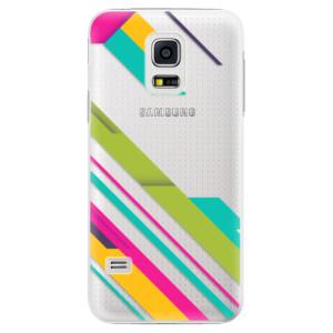 Plastové pouzdro iSaprio Color Stripes 03 na mobil Samsung Galaxy S5 Mini