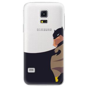 Plastové pouzdro iSaprio BaT Comics na mobil Samsung Galaxy S5 Mini