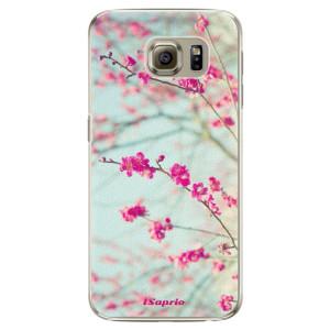 Plastové pouzdro iSaprio Blossom 01 na mobil Samsung Galaxy S6