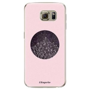 Plastové pouzdro iSaprio Digital Mountains 10 na mobil Samsung Galaxy S6