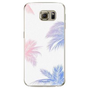 Plastové pouzdro iSaprio Digital Palms 10 na mobil Samsung Galaxy S6