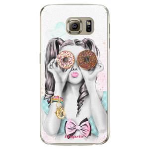 Plastové pouzdro iSaprio Donuts 10 na mobil Samsung Galaxy S6