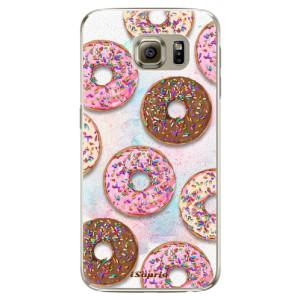 Plastové pouzdro iSaprio Donuts 11 na mobil Samsung Galaxy S6