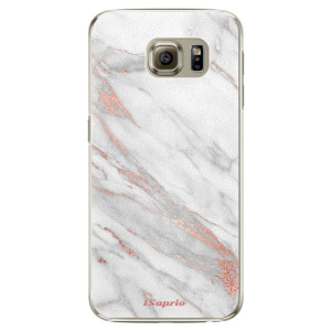 Plastové pouzdro iSaprio RoseGold 11 na mobil Samsung Galaxy S6