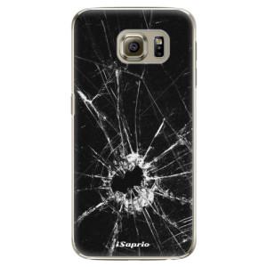 Plastové pouzdro iSaprio Broken Glass 10 na mobil Samsung Galaxy S6